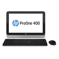 "HP ProOne 400 G1 3GHz i3-4330T 19.5"" Touch screen Nero, Argento PC All-in-one"