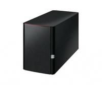 NAS 2BAY 2.5/3.5 GLAN USB2.0 BUFFALO PN:LS220DE-EU NERO