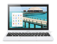 "Acer Chromebook C720P Touch 29554G03aww 1.4GHz 2955U 11.6"" 1366 x 768Pixel Touch screen Bianco Chromebook"