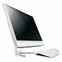 "Lenovo IdeaCentre C460 2.6GHz G3220T 21.5"" 1920 x 1080Pixel Bianco PC All-in-one"