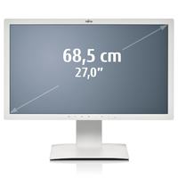 "Fujitsu B line 27T-7 LED 27"" Full HD Opaco Grigio monitor piatto per PC"