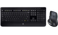 Logitech MX800 RF Wireless QWERTY Inglese UK Nero tastiera