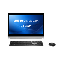 "ASUS ET ET2221INTH-B035K 2.9GHz i3-4130T 21.5"" 1920 x 1080Pixel Touch screen Nero, Argento PC All-in-one"