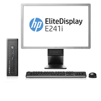 HP ProDesk 600 G1 SFF + EliteDisplay E241i 3.2GHz i5-4570 SFF Nero PC