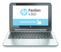 "HP Pavilion x360 11-n000sl 2.13GHz N2820 11.6"" 1366 x 768Pixel Touch screen Alluminio, Antracite Ibrido (2 in 1)"