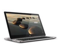 "Acer Aspire R7-572-54208G75ass 1.6GHz i5-4200U 15.6"" 1920 x 1080Pixel Touch screen Argento Ibrido (2 in 1)"