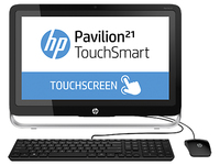 "HP Pavilion 21-h039 TouchSmart 1.5GHz A4-5000 21.5"" 1920 x 1080Pixel Touch screen Nero PC All-in-one"