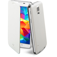 CUSTODIA PER SAMSUNG GALAXY S5 G900 CELLULAR LINE BACKBOOKGALAXYS5WH WHITE