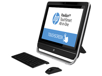 "HP Pavilion 21-h010la TouchSmart 1.5GHz A4-5000 21.5"" 1920 x 1080Pixel Touch screen Nero PC All-in-one"