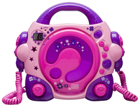 Bigben Interactive Lilly Rose Personal CD player Rosa, Porpora