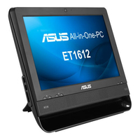 "ASUS ET ET1612IUTS-B019C 1.6GHz 1017U 15.6"" 1366 x 768Pixel Touch screen Nero PC All-in-one"
