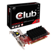 CLUB3D Radeon R5 230 1GB Noisless Edition Radeon R5 230 1GB GDDR3