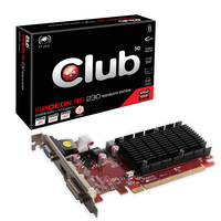 CLUB3D Radeon R5 230 2GB Noiseless Edition Radeon R5 230 2GB GDDR3