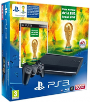 Sony PS3 500GB + FIFA World Cup 500GB Wi-Fi Nero