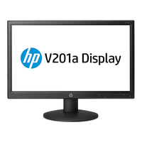 "HP V201a 19.45"" Opaco Nero monitor piatto per PC"