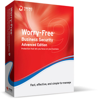 Trend Micro Worry-Free Business Security 9 Advanced, EDU, RNW, 17m, 5u
