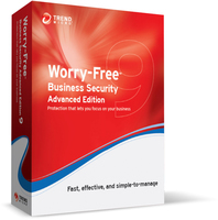 Trend Micro Worry-Free Business Security 9 Advanced, EDU, RNW, 18m, 51-100u