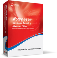 Trend Micro Worry-Free Business Security 9 Advanced, EDU, RNW, 21m, 101-250u