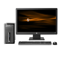 HP ProDesk 400 G1 MT + W2072a 3.4GHz i3-4130 Microtorre Nero PC