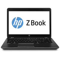 "HP ZBook 14 2.1GHz i7-4600U 14"" 1600 x 900Pixel Nero Workstation mobile"