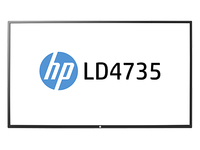 "HP LD4735 46.96"" Full HD IPS Nero monitor piatto per PC"