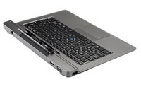 Toshiba PA5172E-1EKE Argento replicatore di porte e docking station per notebook