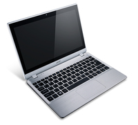 "Acer Aspire 122P-61454G50nss 1GHz A6-1450 11.6"" 1366 x 768Pixel Touch screen Argento Computer portatile"