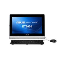 "ASUS ET ET2020IUKI-B002O 3GHz i3-3240T 19.5"" 1600 x 900Pixel Nero, Argento PC All-in-one"