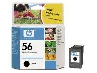 HP 56 Black Inkjet Print Cartridge Nero cartuccia d