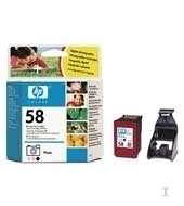 HP 58 Photo Inkjet Print Cartridge cartuccia d