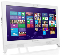 "Lenovo IdeaCentre C260 2.41GHz J2850 19.5"" 1600 x 900Pixel Touch screen Bianco PC All-in-one"