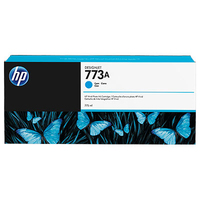 HP 773A 775-ml Cyan Designjet Ink Cartridge testina stampante