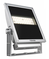 Toshiba E-CORE LED FLOODLIGHT 3000 Outdoor wall lighting LED Argento