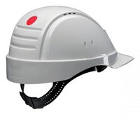 3M G2000CUV-VI Unisex Bianco hard hat/safety helmet