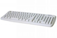 NGS Cute White PS/2 QWERTY Bianco tastiera