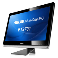 "ASUS ET ET2701INTI-B095K 3.4GHz i7-3770 27"" 1920 x 1080Pixel Touch screen Nero PC All-in-one"