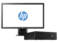 HP ProDesk 600 G1 SFF + EliteDisplay E231 3.4GHz i3-4130 SFF Nero PC
