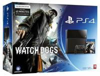 Sony 500 GB PlayStation 4 + Watch Dogs 500GB Wi-Fi Nero