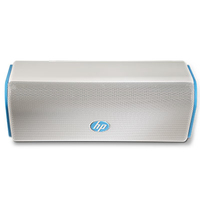 HP Roar Blue Wireless Speaker 15W Cubo Bianco, Blu