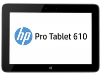HP Pro Tablet 610 G1 64GB Nero, Argento tablet