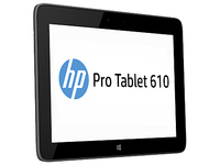 HP Pro Tablet 610 G1 64GB Nero tablet