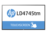 "HP LD4745tm 46.96"" 1920 x 1080Pixel Nero monitor touch screen"