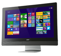 "Acer Aspire 615 9102 NL 2GHz i5-4590T 23"" 1920 x 1080Pixel Touch screen Nero, Argento PC All-in-one"