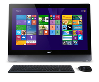 "Acer Aspire U5-620 2.6GHz i5-4210M 23"" 1920 x 1080Pixel Touch screen Argento PC All-in-one"