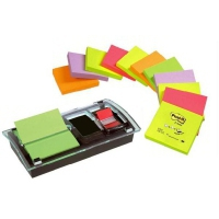3M DS100VP Post-it Z-Notes en Index Dispensers Nero dispenser nastro adesivo