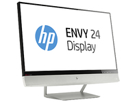 "HP E5H53AA 23.8"" Full HD IPS Nero, Bianco monitor piatto per PC"