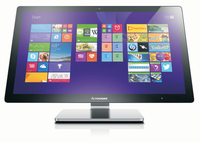 "Lenovo IdeaCentre A740 2.4GHz i5-4258U 27"" 1920 x 1080Pixel Touch screen Argento PC All-in-one"