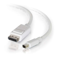 C2G 54299 3.05m Mini DisplayPort DisplayPort Bianco cavo DisplayPort