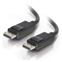 C2G 25ft DisplayPort 7.62m DisplayPort DisplayPort Nero