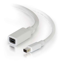 C2G 54414 1.83m Mini DisplayPort Mini DisplayPort Bianco cavo DisplayPort